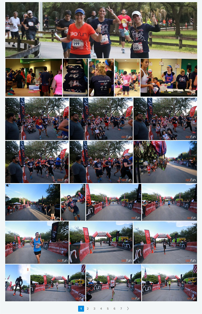 Gallery of pictures taken of participants at last year's race. Click to be redirected to our Flickr page with more pictures