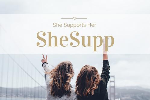 SheSupp Diamond Membership (1 year)