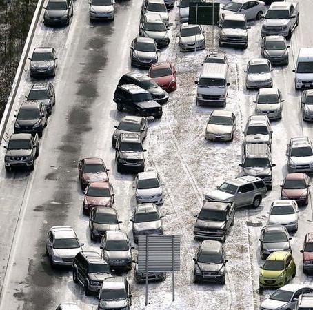 Revisiting the 2014 Winter Ice Storm 'Snow Jam' in Atlanta, Georgia