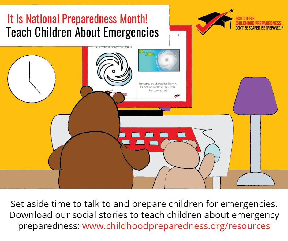 Teach children about emergencies