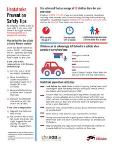 heatstroke, heatstroke prevention, kids and cars, kidsandcars.org, children, hot cars, hot car deaths, child care, daycare, preschool