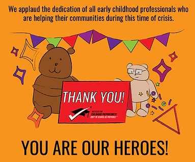 thank you early childhood professionals