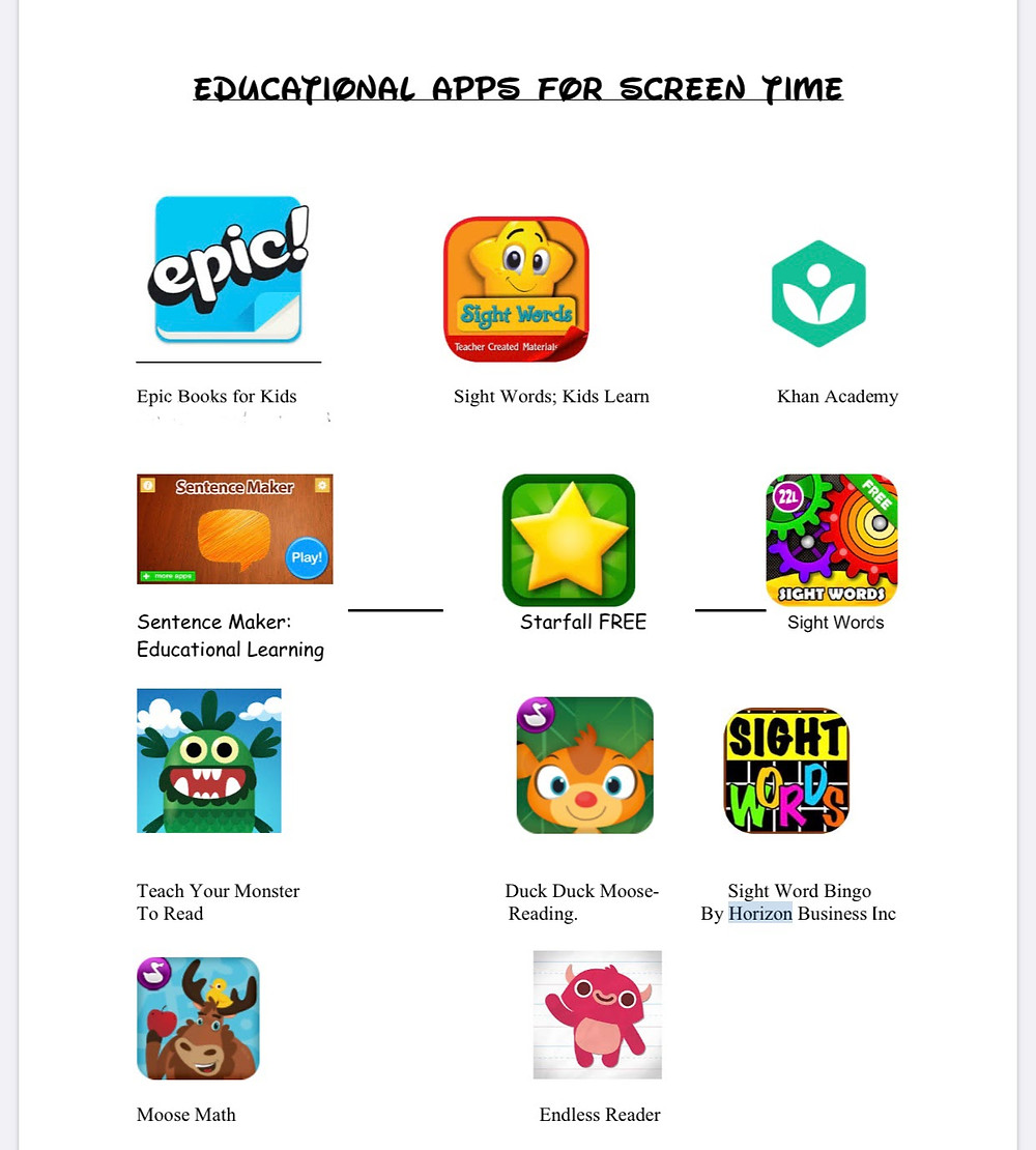 education, early childhood, early childhood education, educational apps, educational apps for screentime, prek, preschool, daycare, childcare, childcare providers, children, teachers