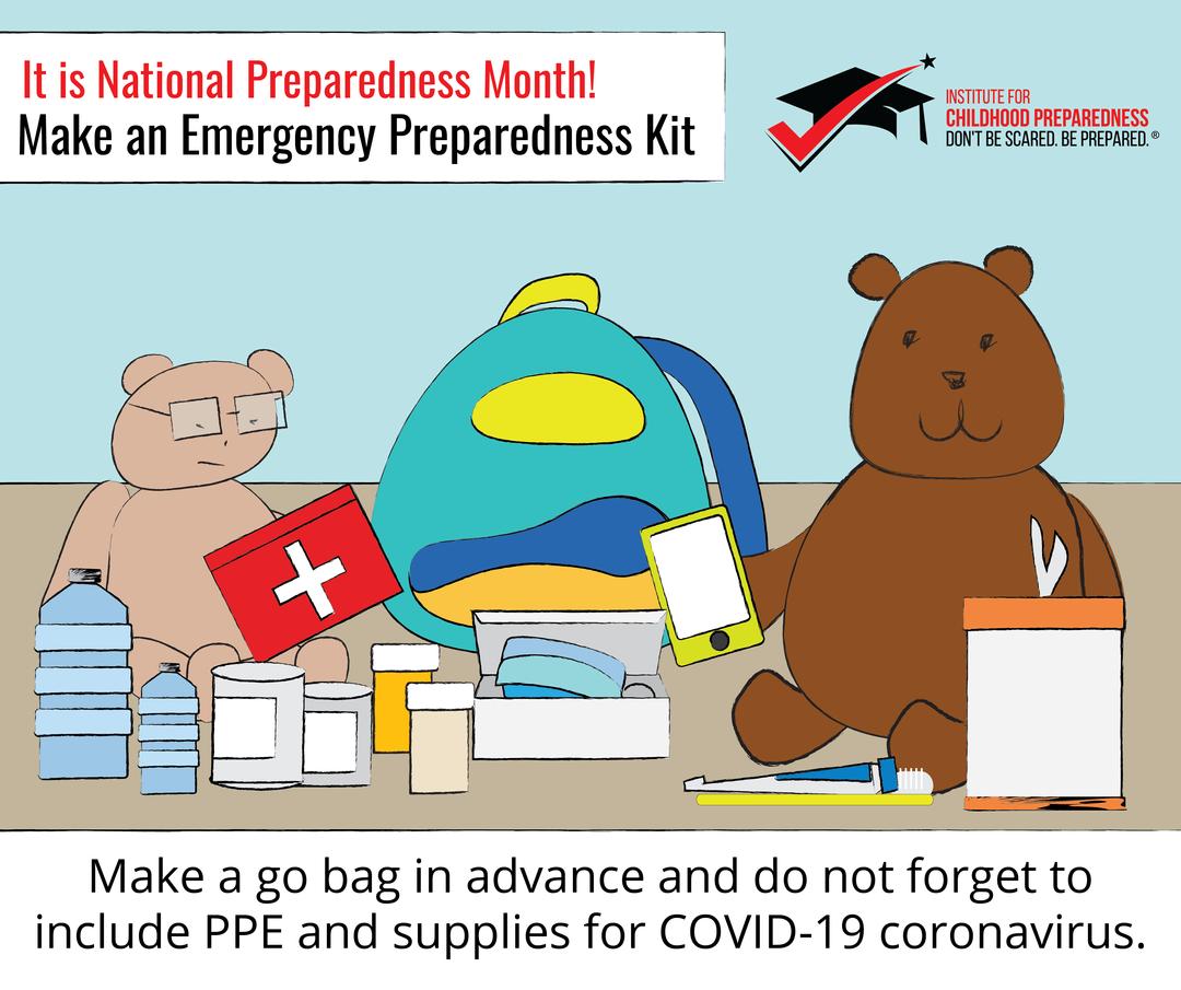Preparedness month during COVID-19