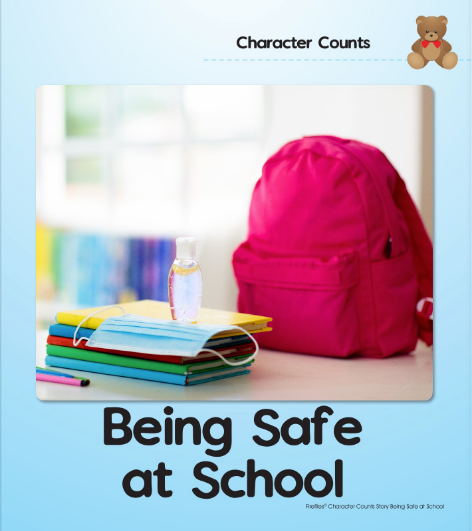 being safe at school, social story, social stories, autism, children, ece, child care, childcare, daycare, preschool, learning