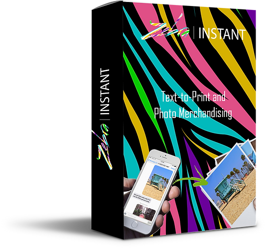 Zebra Instant Smartphone Photo Print and Merchandising Software