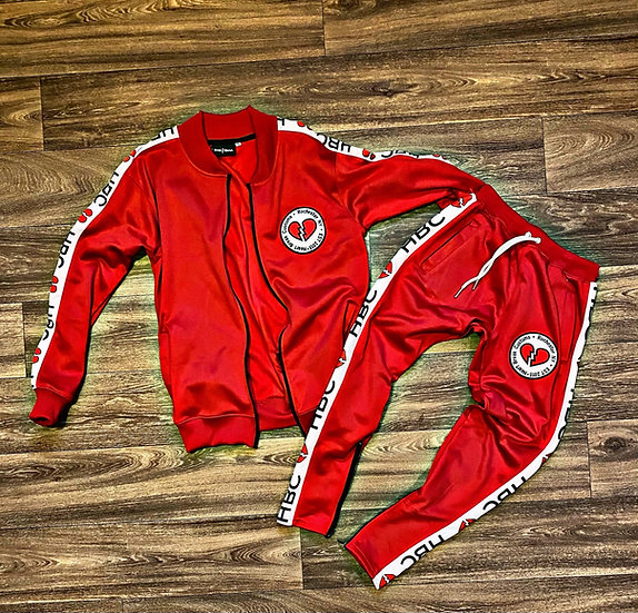 (PreOrder) Red HBNY tracksuit