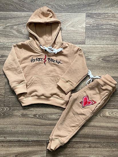 (Kid) Tan Sweatsuits