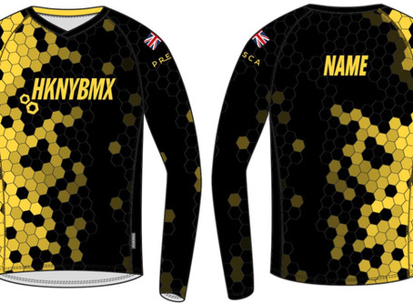 New jersey finalised