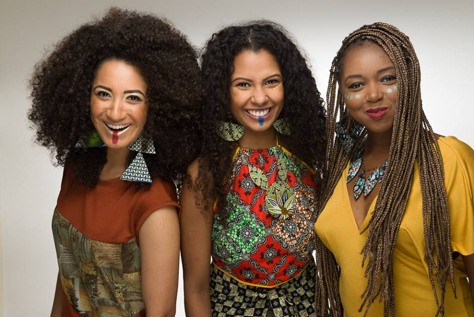 Fernanda, Milene e Jessica