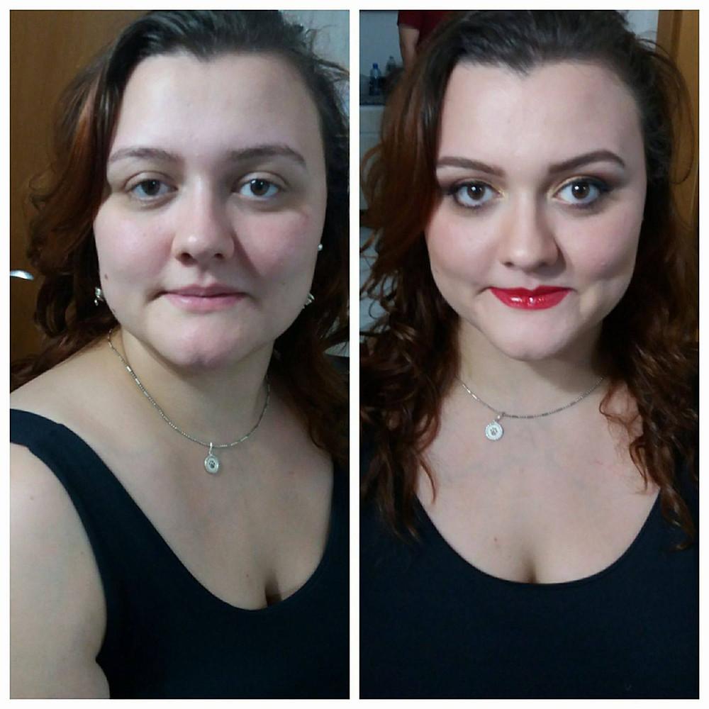 Ana Andretta (antes e depois)