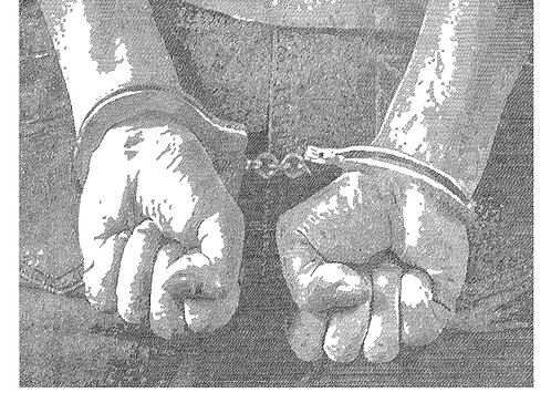The Arrest By Gary Mansfield