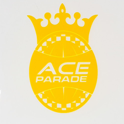 Ace Parade Static Window Sticker