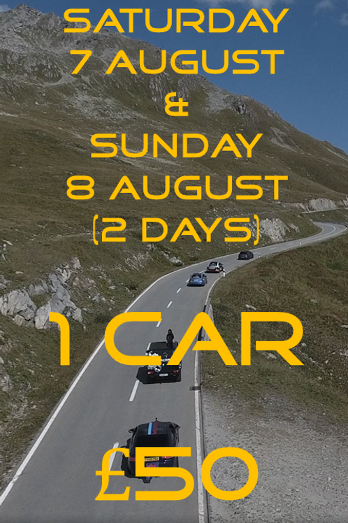 Saturday 7 & Sunday 8 August MotoDrive
