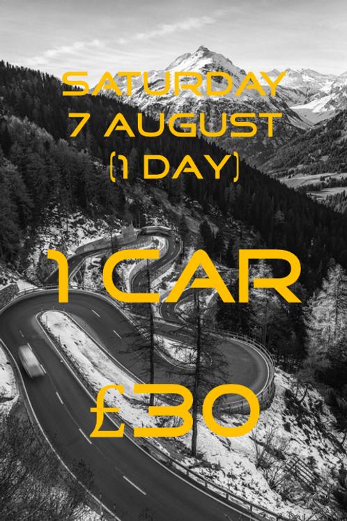 Saturday 7 August MotoDrive