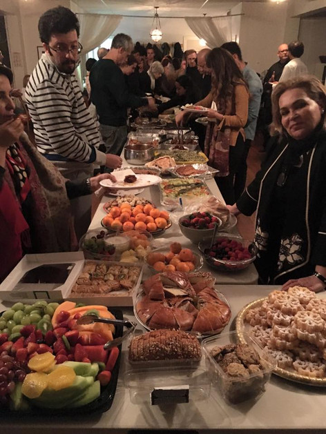 Feast at Rumi Celebration 2016