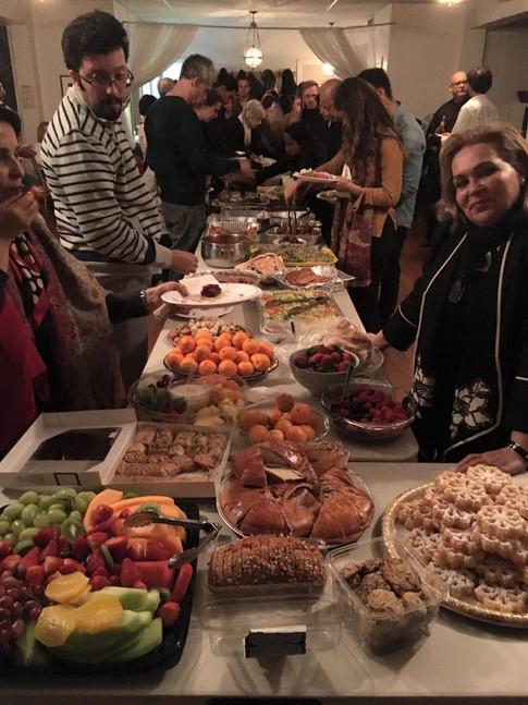 Feast at Rumi Celebration 2016