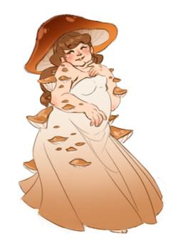 Mashna, la déesse champignon