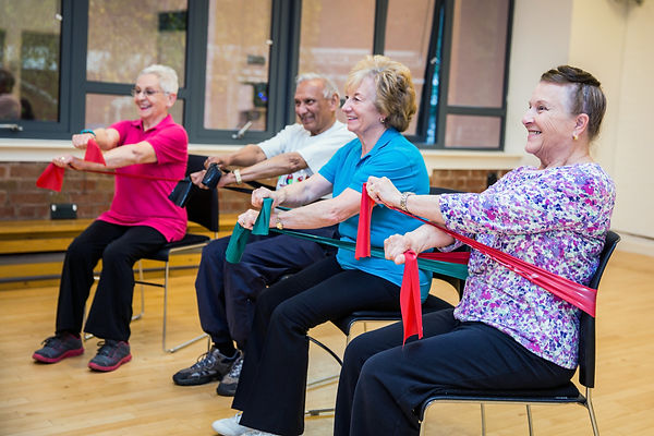 exercise class, Move It Or Lose It, Ilkely, Skipton, Seniors, Older People