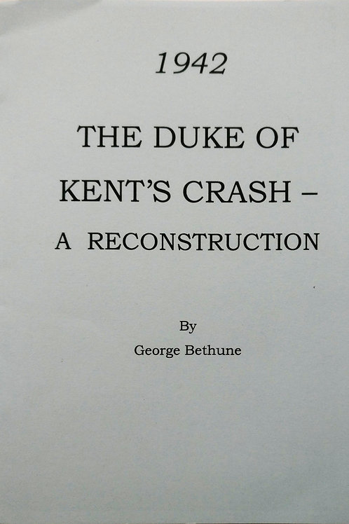 1942 The Duke of Kent's Crash - The Reconstruction