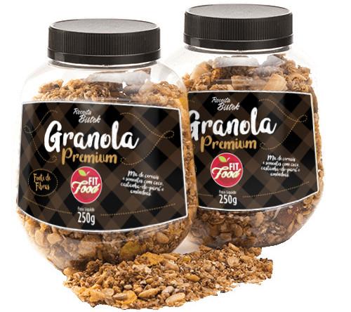 Rótulo Granola - Bistek