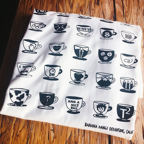 Coffee Cup Shirt (3 colors)