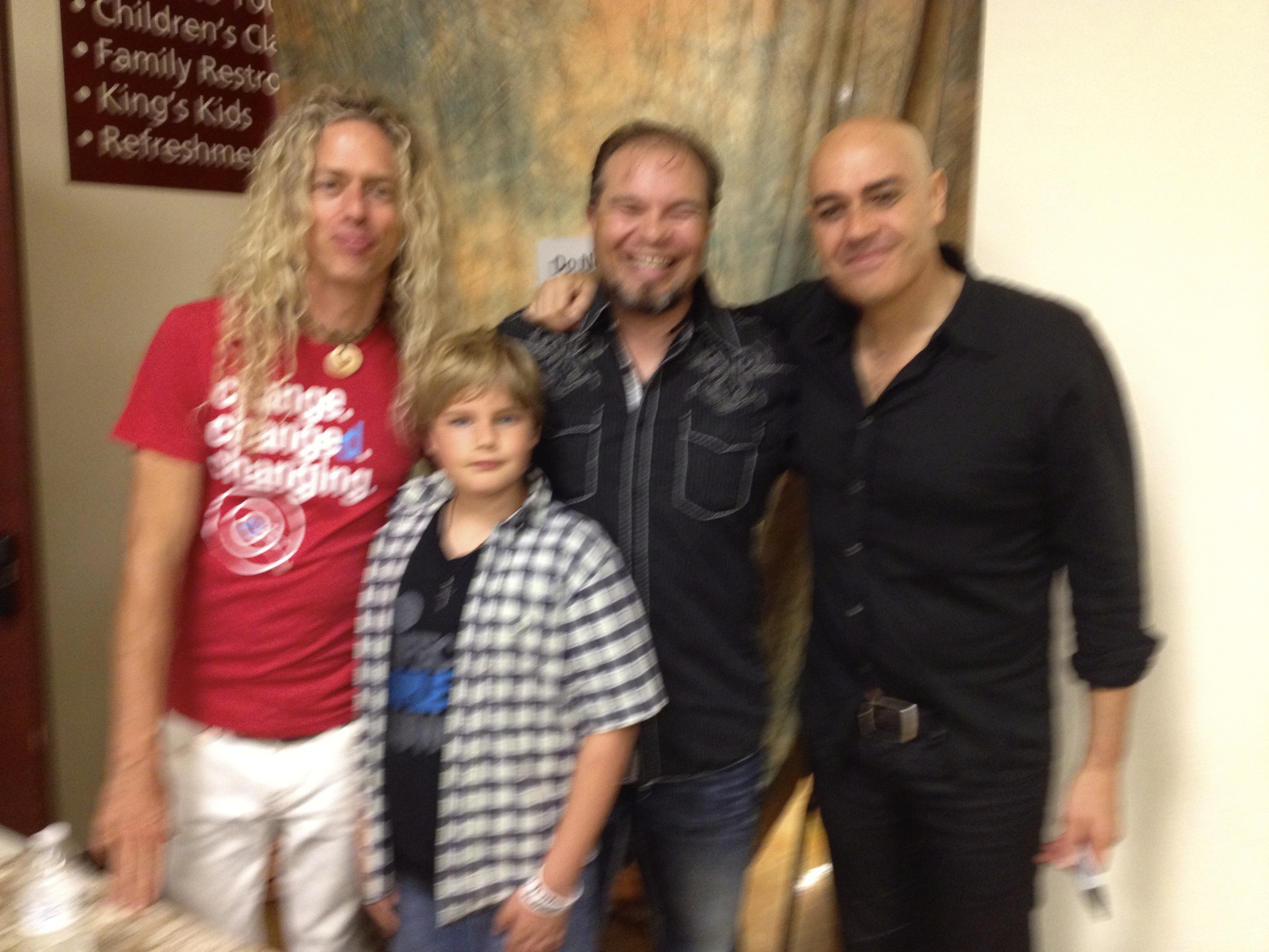 Phil Joel & Peter Furler- Newsboys