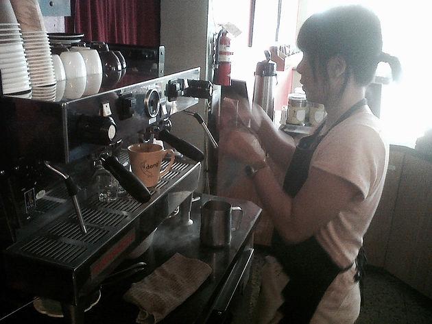 The Start / Making Coffee   Banana Dang Coffee Oceanside