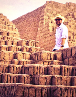 Pyramid- Lima, Peru
