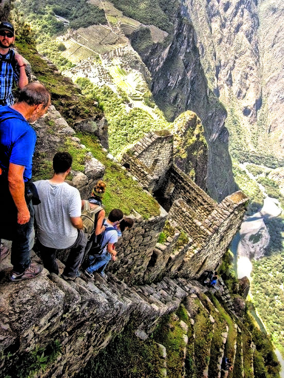 Stairs of Death- Machu Pichu