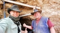 Archaeologist Bruce Hall