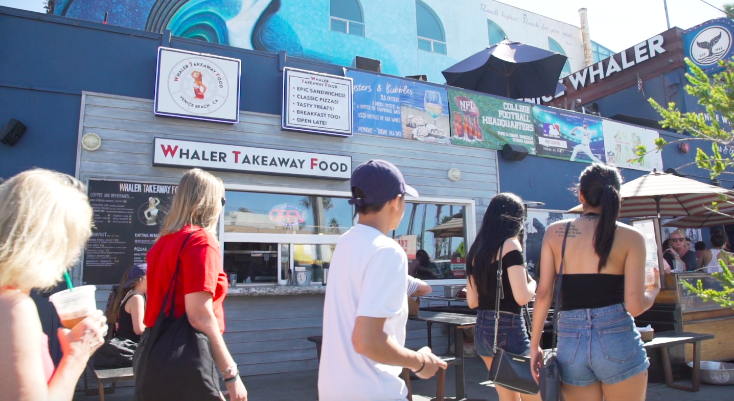 Venice Whaler Takeaway Food