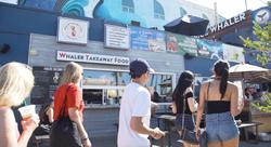 Venice Whaler Takeaway Food