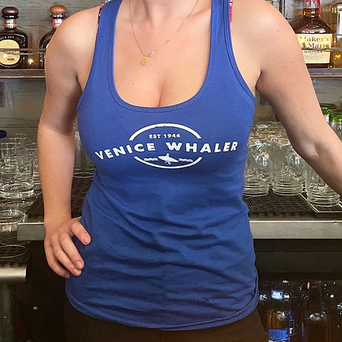 Navy Blue Whaler Tank Top (Women's)