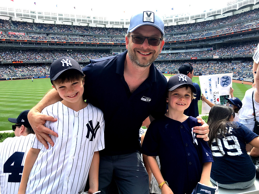 Shawn Wikoff and sons