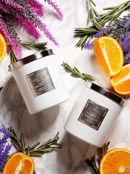 Candle and 200ml Diffuser Gift Set in Lavender, Rosemary & Orange scent