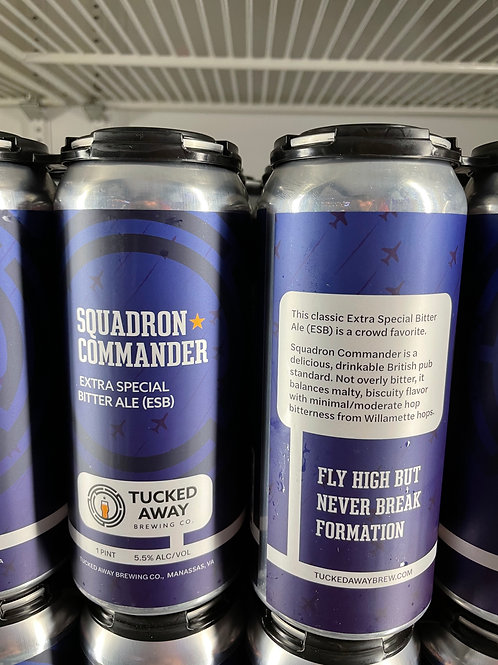 Tucked Away Brewing Co. | Squadron Commander ESB | 4-Pack