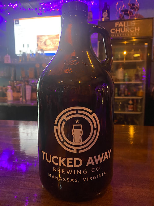 Tucked Away Brewing Co. 64oz. Growler