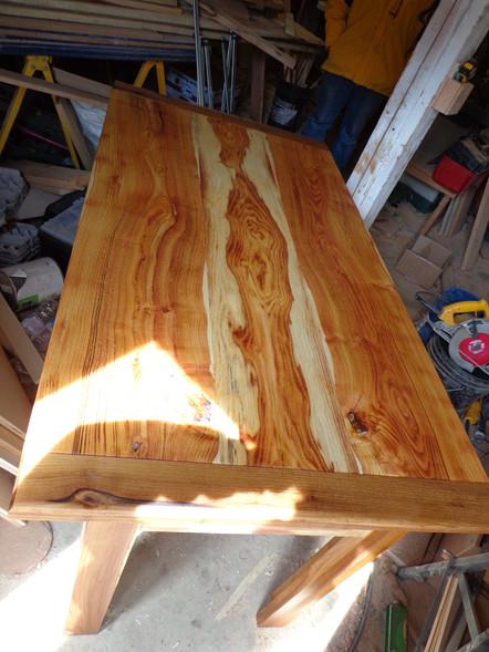 Honey Locust Farm table