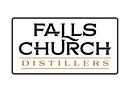 Falls Church Distillers Bold Logo White