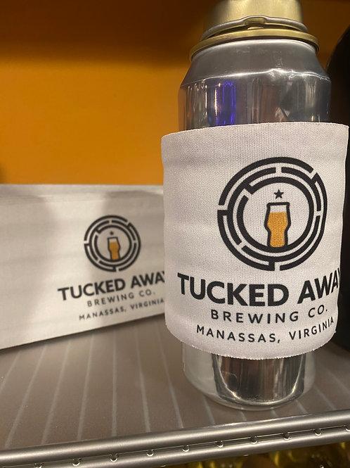 """Tucked Away Brewing Co. Adjustable """"Slap"""" Koozie"""