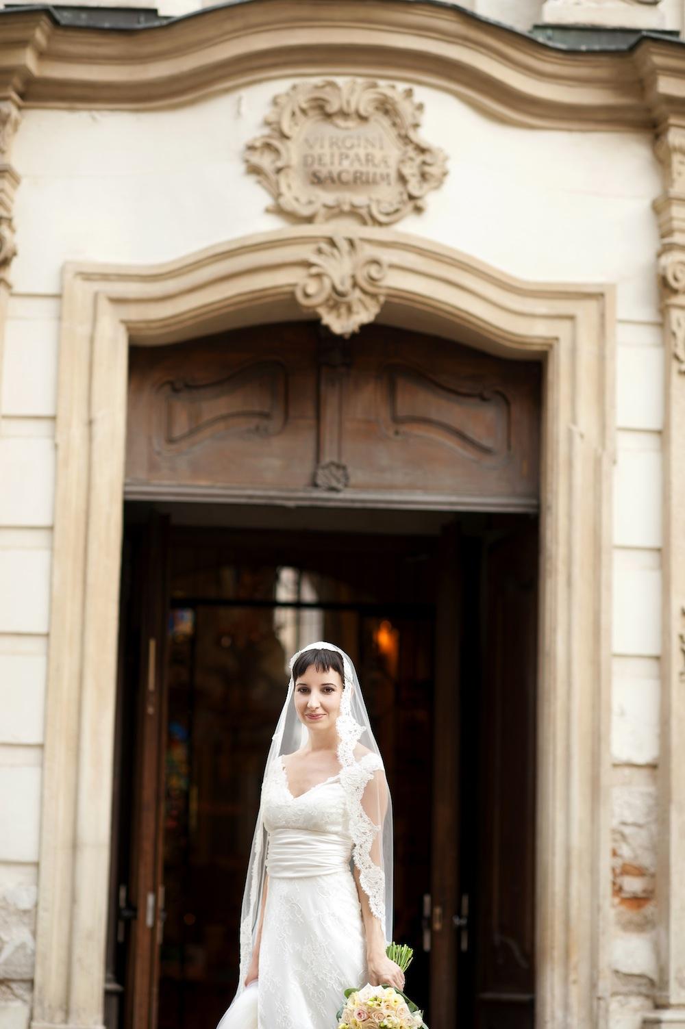 Jelana in Custom Gown
