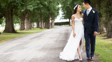 Real Bride Katherine in Bespoke Gown by Jennifer Go Bridal