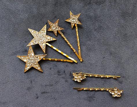 ZADIE: Star Hairpin Set