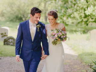 Real Bride Polly in the Melana gown by Jennifer Go Bridal
