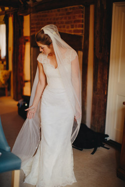 Polly in Melana Gown