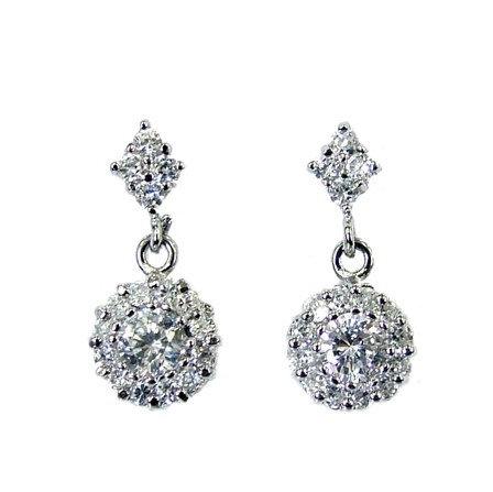 Dainty Crystal Drop Earrings