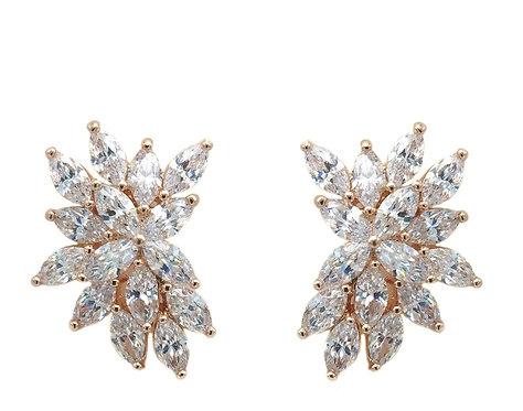 Jasmine Crystal Earrings