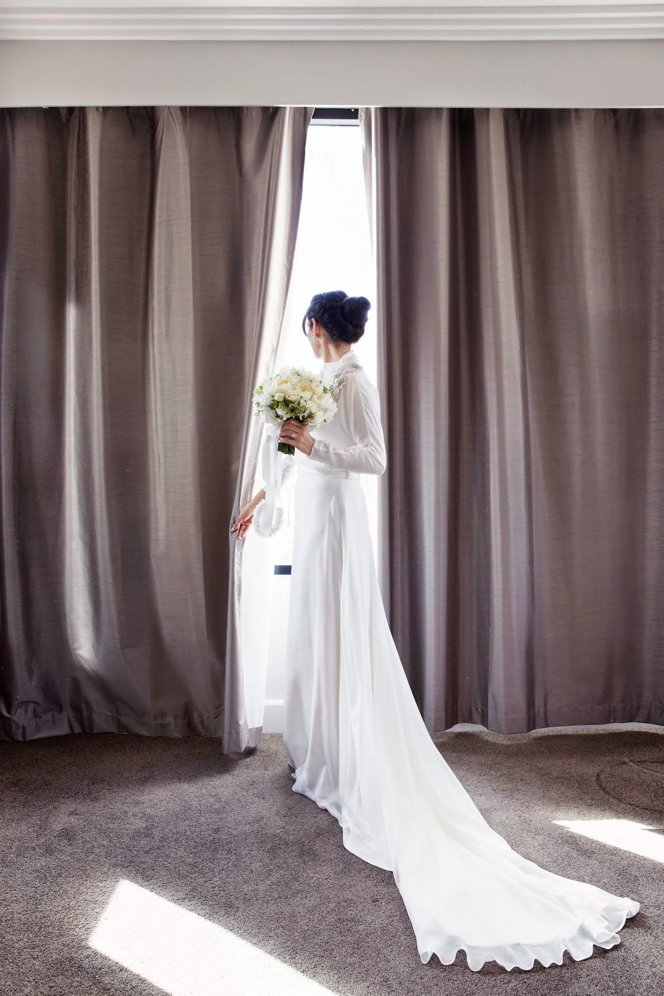 Gina in Custom Gown