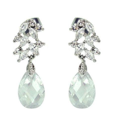 Gardenia Crystal Earrings